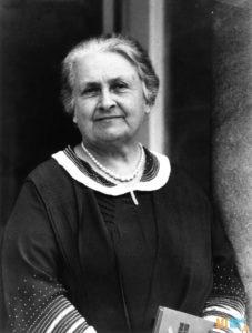 Итальянский врач и педагог Мария Монтессори