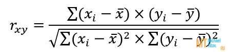 коэффициент линейной корреляции Пирсона