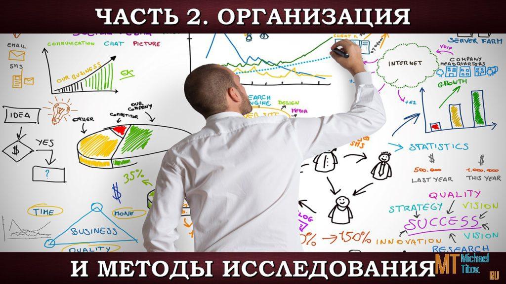 Часть 2. Организация и методы исследования